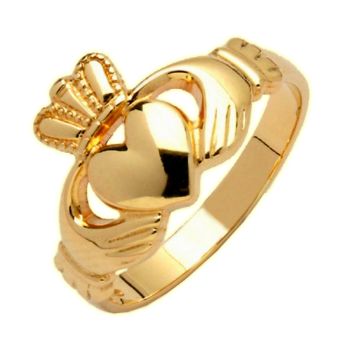 Gold Claddagh Ring - Avoca Claddagh Rings